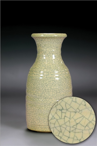 Scarva Nano Colours NAK003 Honey Stoneware Crackle Glaze  - Click to view larger image