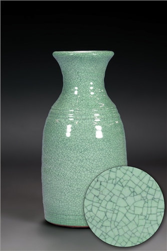 Scarva Nano Colours NAK006 Duck Egg Stoneware Crackle Glaze  - Click to view larger image