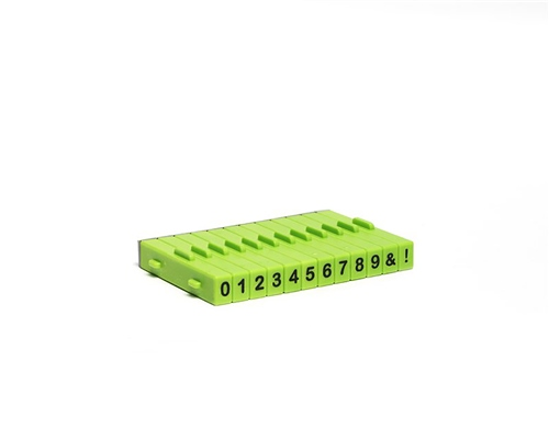 Xiem Tools XM127 Attachable Numbers Stamp Set 12pc  - Click to view larger image