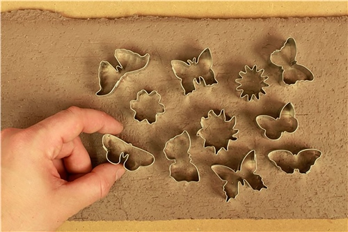 Scarva Tools Metal Shape Cutter Set | Butterflies & Flowers - 11pcs  - Click to view larger image