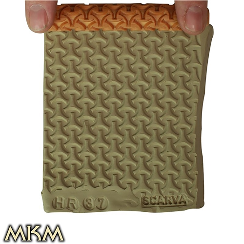 MKM Tools 10cm Hand Roller 37 - Wishbone Weave  - Click to view larger image