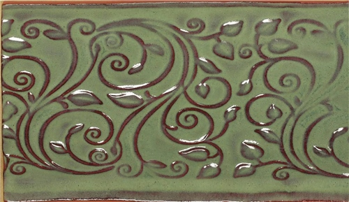 1 Pint AMACO Opalescent Glaze Moss Green O-42