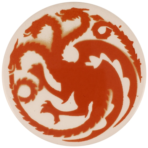 Dragon Stains Autumn Brown Leadfree Glaze Stain B110  - Click to view larger image
