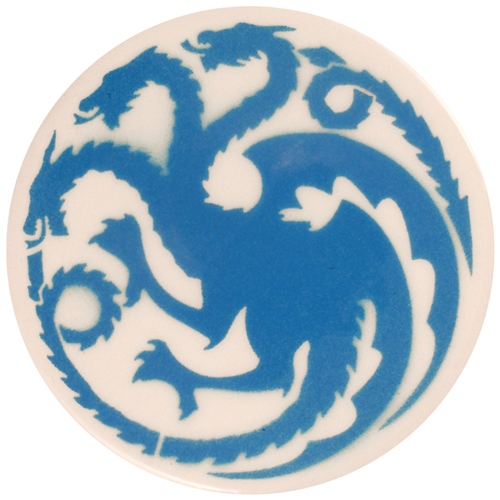 Dragon Stains Azure Blue Leadfre Glaze Stain B105  - Click to view larger image