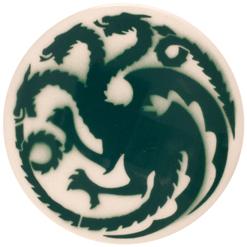 Dragon Stains Marine Green Leadfree Glaze Stain B104  - Click to view larger image