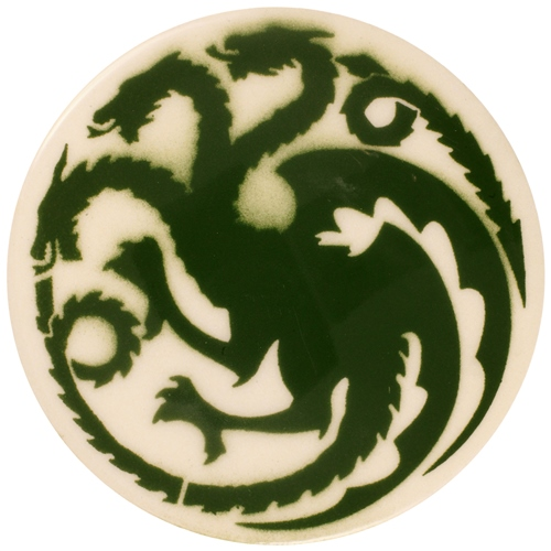 Dragon Stains Forest Green Leadfree Glaze Stain B103  - Click to view larger image