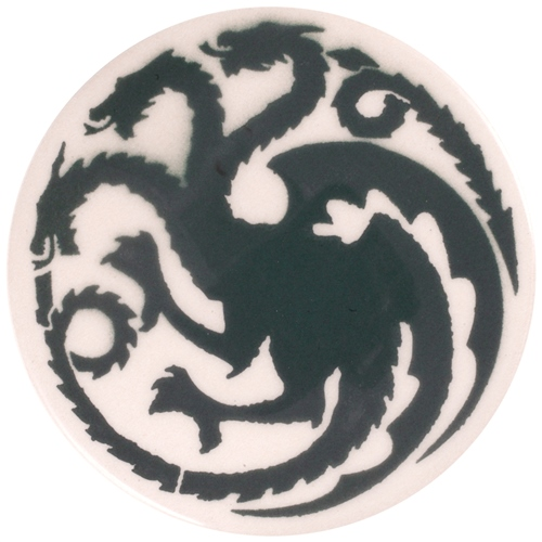Dragon Stains Grey Leadfree Glaze Stain B128  - Click to view larger image