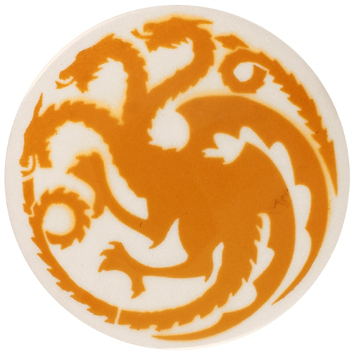 Dragon Stains Maize Yellow Leadfree Glaze Stain B101  - Click to view larger image