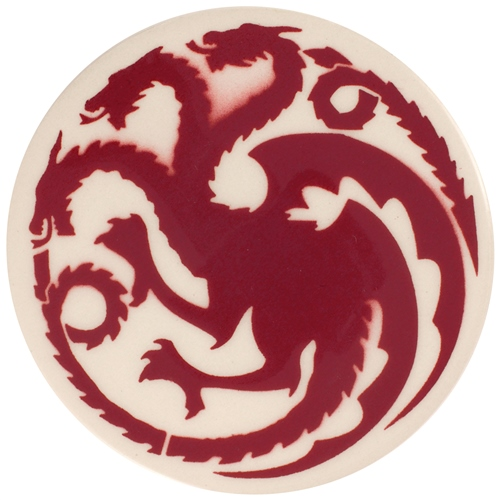 Dragon Stains Crimson Leadfree Glaze StainB120  - Click to view larger image