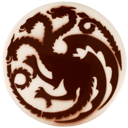 Dragon Stains Nut Brown Leadfree Glaze Stain B110  - Click to view larger image