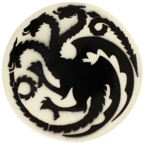 Dragon Stains Pitch Black Leadfree Glaze Stain B129  - Click to view larger image