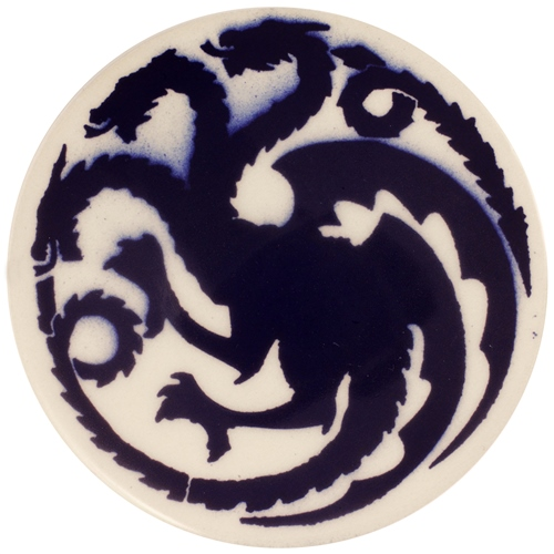 Dragon Stains Mazarine Blue Leadfree Glaze Stain B118  - Click to view larger image