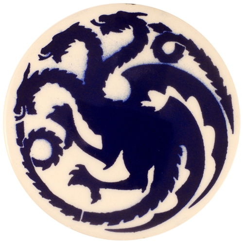 Dragon Stains Cobalt Blue Leadfree Glaze Stain B106  - Click to view larger image
