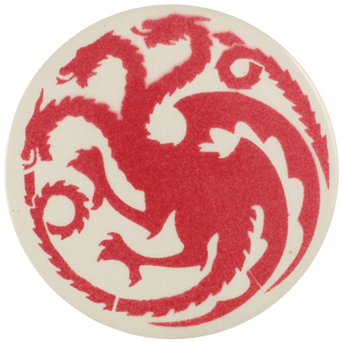 Dragon Stains Rose Pink Leadfree Glaze Stain  - Click to view larger image