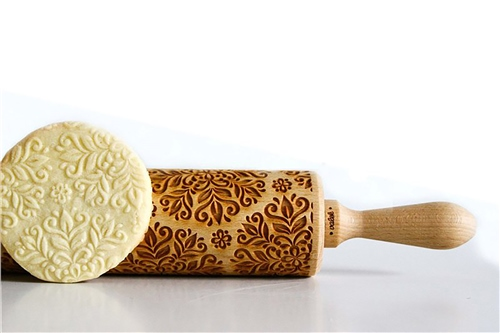 Scarva Tools Rolling Pin VBR058 - Kaleidoscope  - Click to view larger image