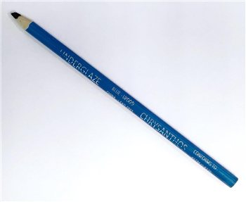 Chrysanthos Blue UP009  Underglaze Pencil - 1000°C to 1305°C  - Click to view larger image