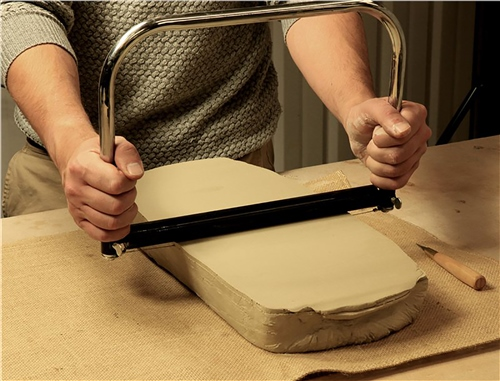 Scarva Tools Clay Slab Cutter  - Click to view larger image