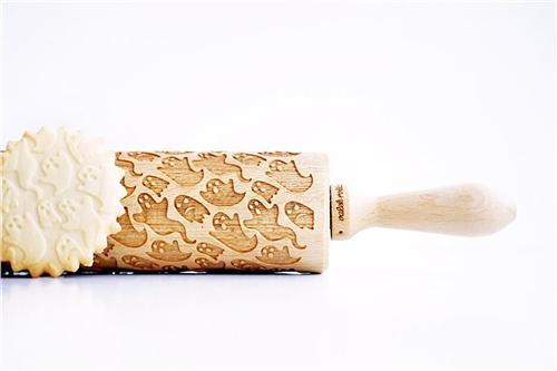 Scarva Tools Rolling Pin VBR035 - Ghosts  - Click to view larger image