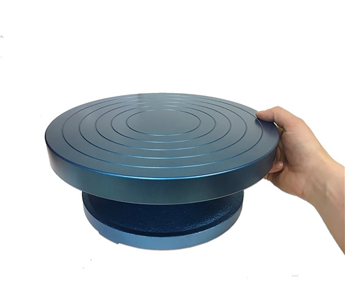 Scarva Cast Iron Whirler | Banding Wheel - 300mm x 120mm  - Click to view larger image