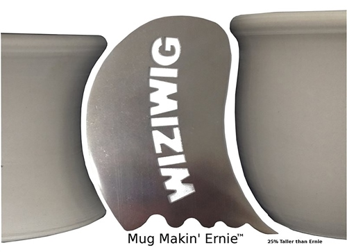 WiziWig Pottery Tools Mug Makin Ernie  - Click to view larger image