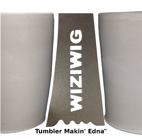 WiziWig Pottery Tools Tumbler Makin Edna XL  - Click to view larger image
