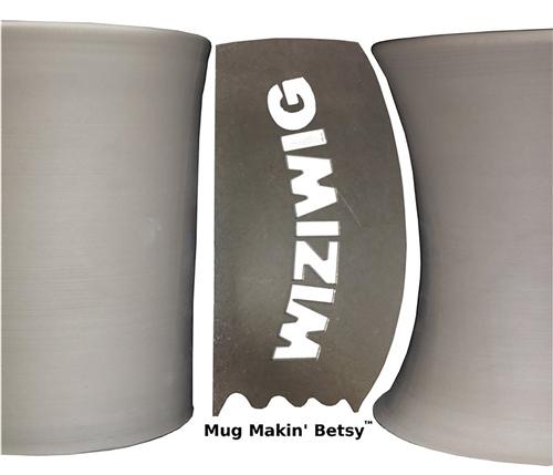 WiziWig Pottery Tools Mug Makin Betsy  - Click to view larger image