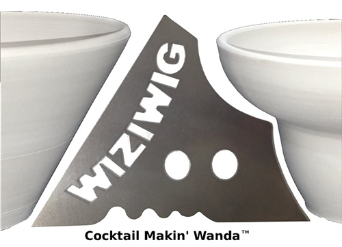 WiziWig Pottery Tools Cocktail Makin Wanda  - Click to view larger image