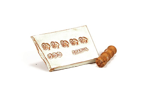 MKM Tools Small debossed elephant stamp  - Click to view larger image