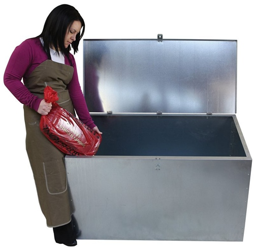Scarva Metal - Clay Storage Bin  - Click to view larger image