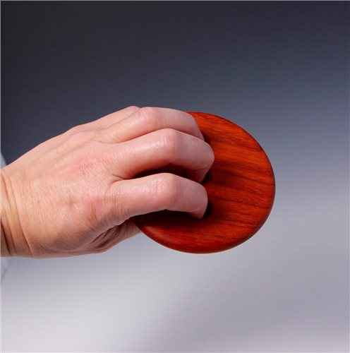 Hsin Tools 4 Round Padauk Bowl Rib  - Click to view larger image
