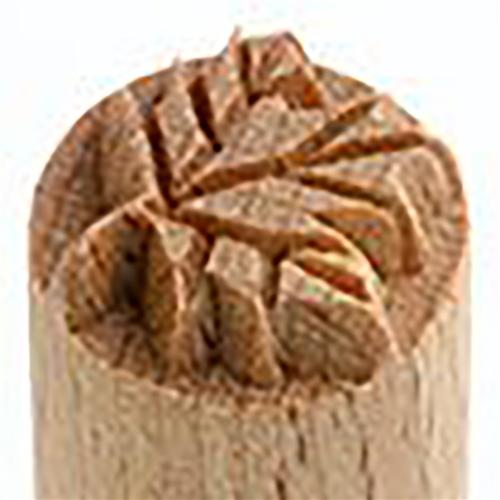 MKM Tools Small debossed leaf stamp