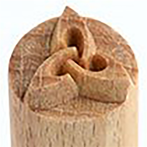 MKM Tools Small debossed Celtic Knot stamp