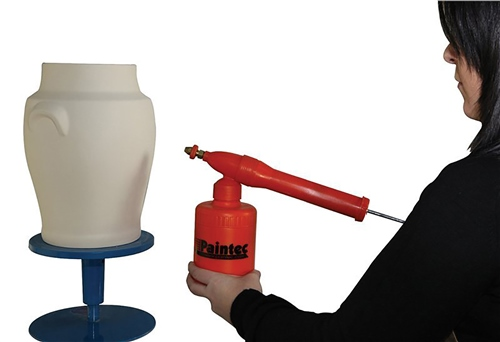 Scarva Manual Pump Spray Gun (Orange)  - Click to view larger image