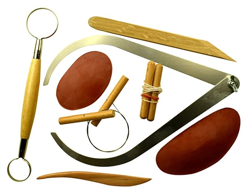Scarva Tools 8 Piece Pottery  Set  - Click to view larger image