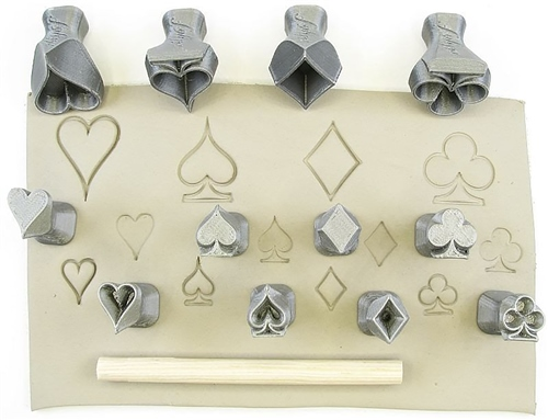 Relyef Pottery Tools Set of Card Symbols  - Click to view larger image