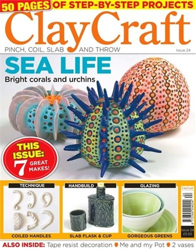 Clay Craft Issue 24 March 2019  - Click to view larger image
