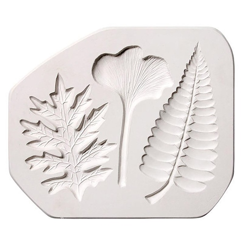 Scarva Leaves Sprig/Press Mould  - Click to view larger image