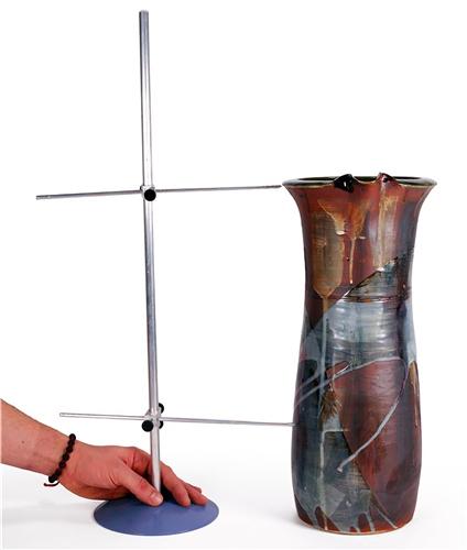 Scarva Aluminium Gauge Post 500mm