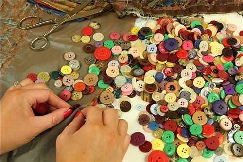 Scarva Assorted Buttons - 500g  - Click to view larger image