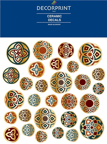 Decorprint Ceramic Decals - Arabic  - Click to view larger image