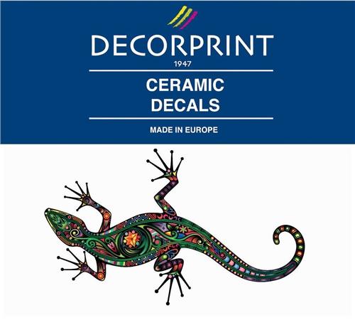 Decorprint Ceramic Decals - Lizard  - Click to view larger image