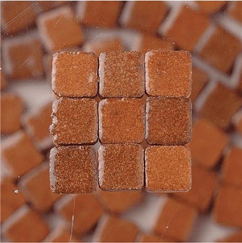 Scarva Mini Mosaic Ceramic Tiles, Brown, 2295678, 150-Piece  - Click to view larger image