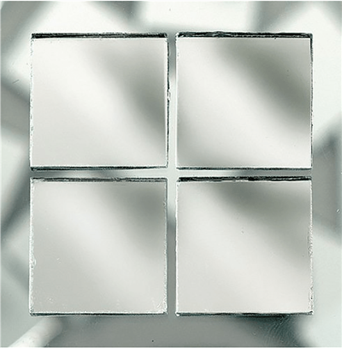 Scarva Mini Mosaic Mirror Tiles, 2291699, 650-Piece  - Click to view larger image