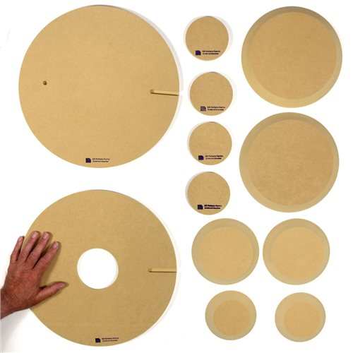 GR Pottery Forms GRP007 Wheel Attachment Starter Kit  - Click to view larger image