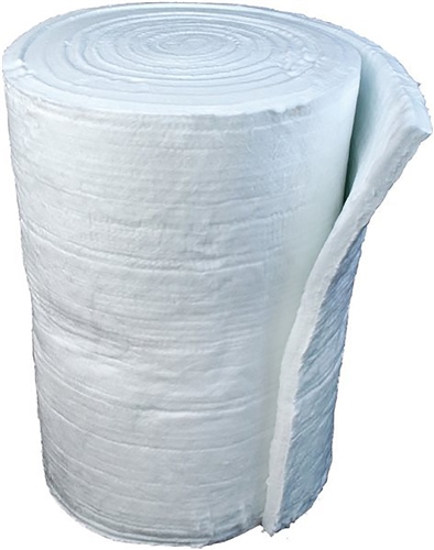 Scarva Kilns Ceramic Fibre Blanket - 1300ºC Grade 128 Density (7.32m x 610mm x 25mm roll)  - Click to view larger image