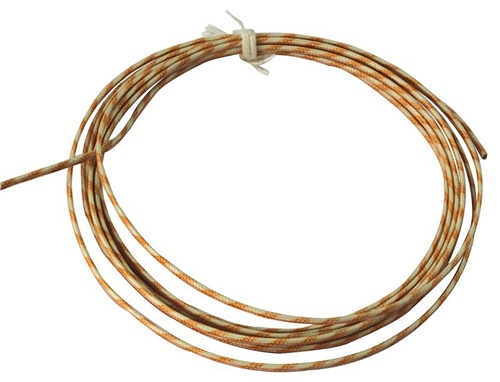 Scarva Glass Fibre Insulated Thermocouple Compensating Cable up to 200ºC  - Click to view larger image