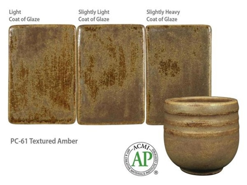 AMACO PC-61 Texture Amber Powder Kilo  - Click to view larger image