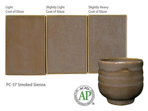 AMACO PC-37 Smoked Sienna Powder Kilo  - Click to view larger image