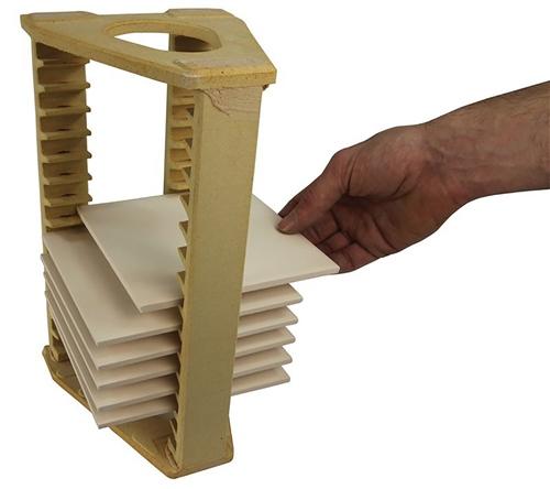 Scarva Kilns Tile Crank - 150mm L x 150mm W  - Click to view larger image