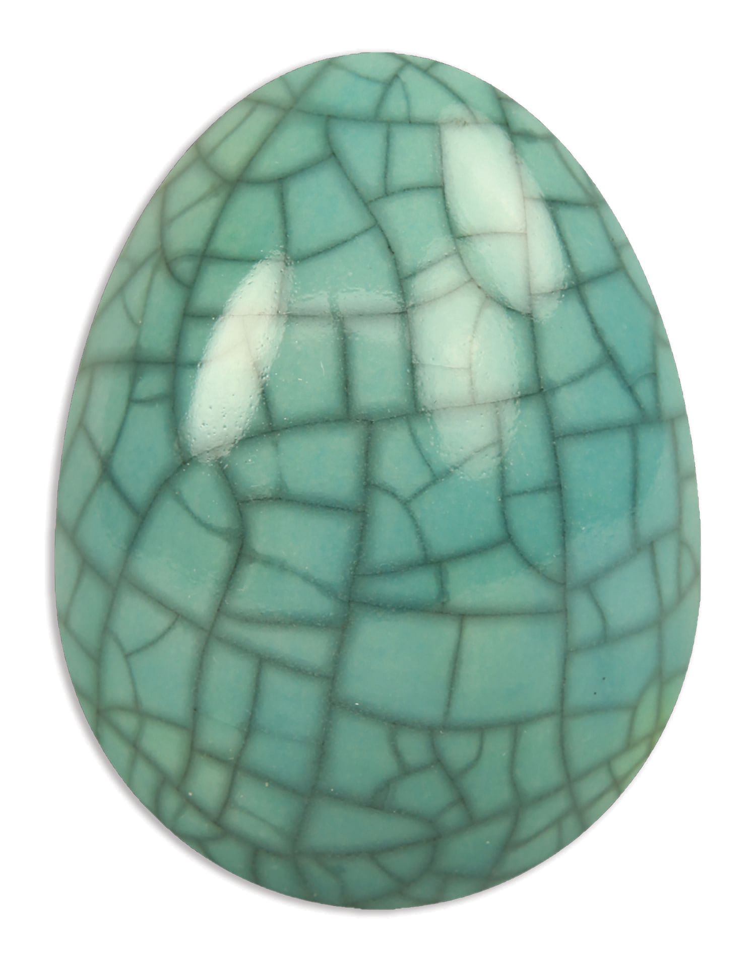 Scarva Nano Colours NK07 Turquoise Earthenware Crackle Glaze 1